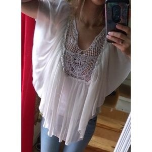 Stunning Free People Butterfly Top